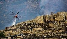希臘野火竄燒 波及著名邁錫尼古城遺址
