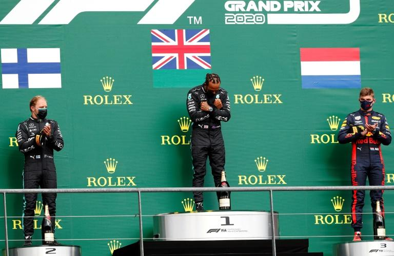 Hamilton salutes Boseman and pleads for end to 'boring' racing