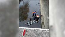 女機車騎士返家對撞休旅車 噴飛墜橋當場慘死