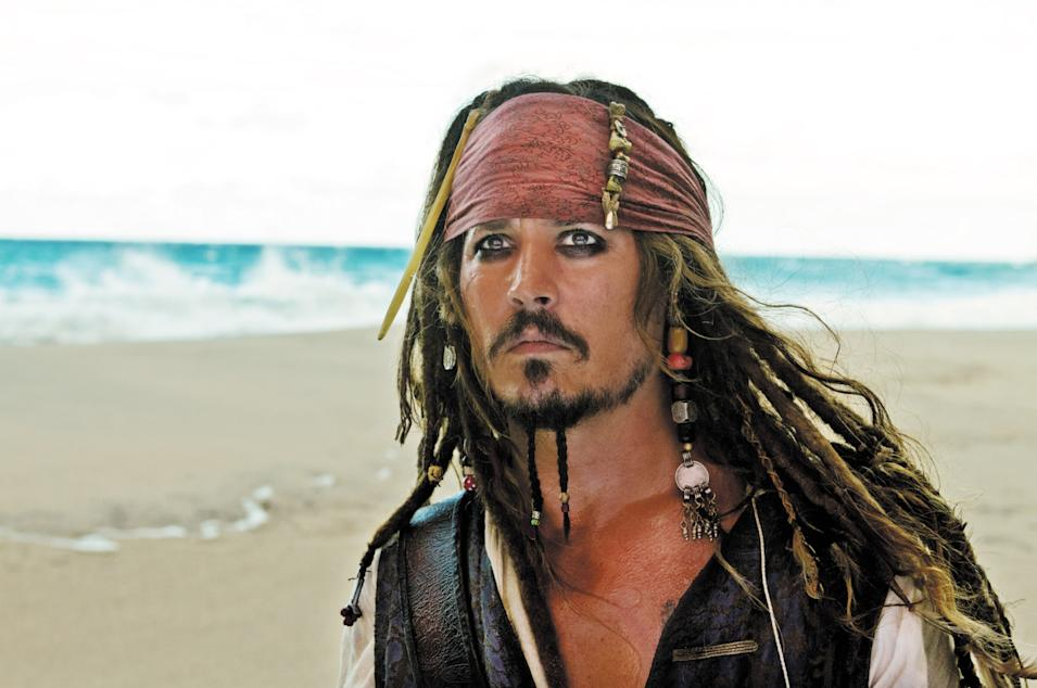 PIRATES OF THE CARIBBEAN: ON STRANGER TIDES.Johnny Depp.photo: Peter Mountain... Disney Enterprises Inc..