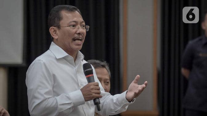 Saat Risma Kaget Menkes Terawan Tiba-Tiba Datang ke Surabaya