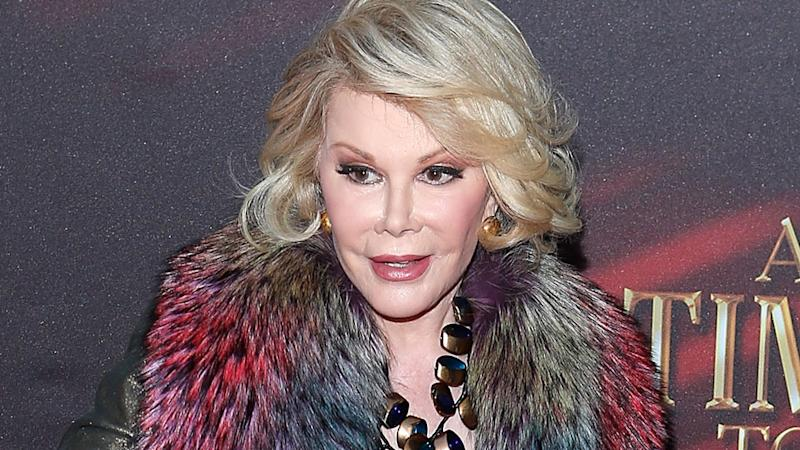 Joan Rivers Remains Unconscious as Celebrity Friends Send Prayers