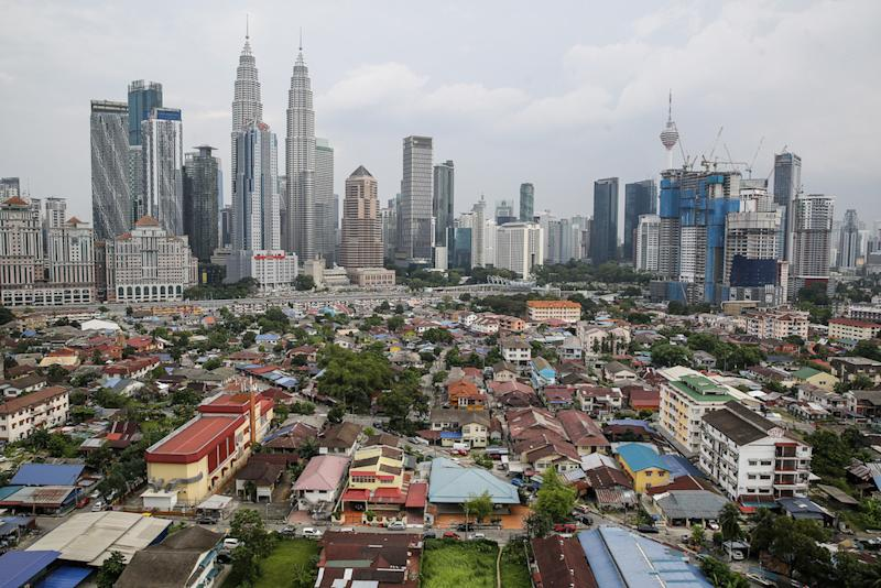Home prices remain muted, with the average cost of a house easing in the second quarter to RM420,345, the lowest level in a year. — Picture by Yusof Mat Isa