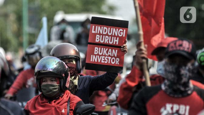 KSPI Tak Ikut Aksi Demo Tolak RUU Cipta Kerja Hari Ini