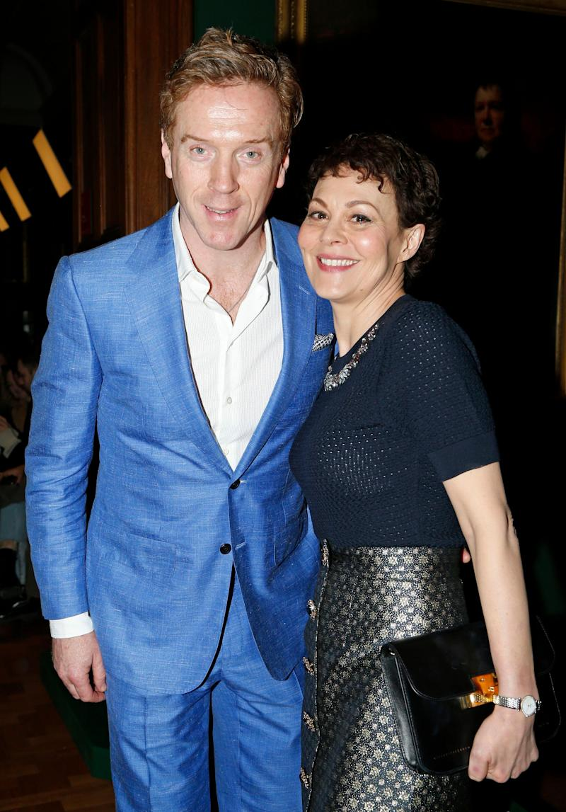 Helen Mccrory Leaving damian lewis, helen mccrory talk fashion, new projects at