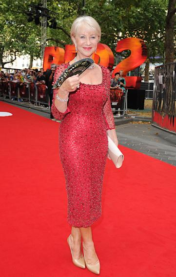 Celebrities attend at the 'Red 2' Premiere in London, UK