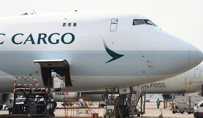 Cathay Pacific is the world's fifth-largest air cargo carrier. Photo: Nora Tam