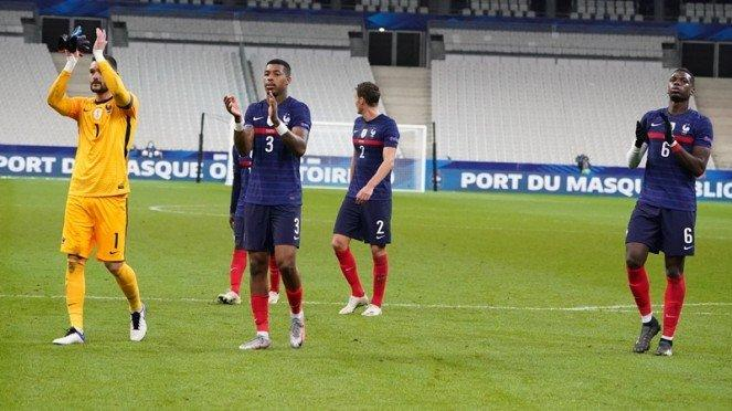 Kiper Timnas Prancis, Hugo Lloris usai tampil melawan Portugal