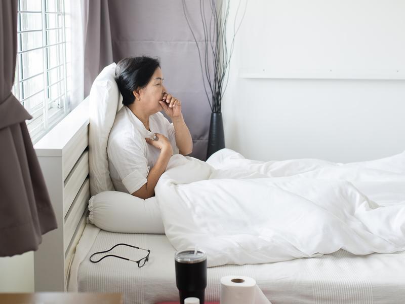 病菌入侵肺部 嚴重還會造成肺積水
