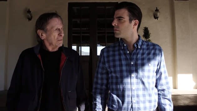 Old Spock and New Spock Reunite for Audi Commercial