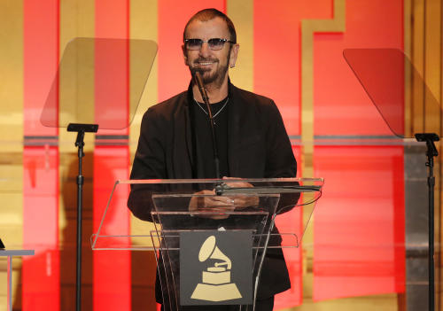 Ringo Star attends The 56th Annual GRAMMY Awards - Special Merit Awards Ceremony, on Saturday, Jan. 25, 2014 in Los Angeles. (Photo by Todd Williamson/Invision/AP)