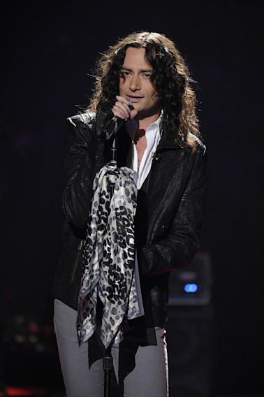 "Constantine Maroulis performs ""Unchained Melody"" on ""American Idol."""