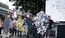 台北簽名會遇大雨 陳奕迅想改名叫「微風神」