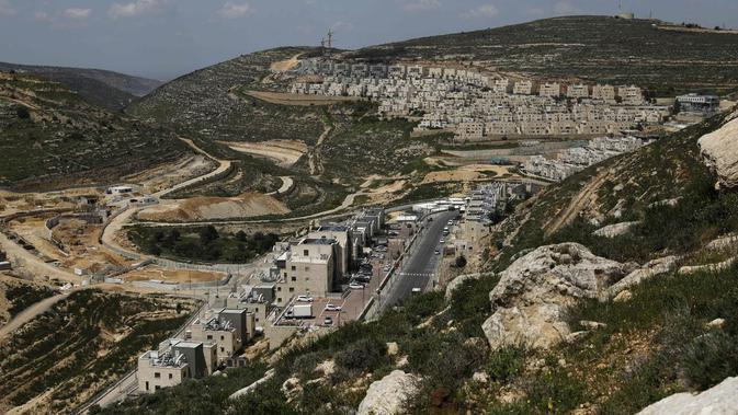 Permukiman Israel di Tepi Barat (AFP Photo)