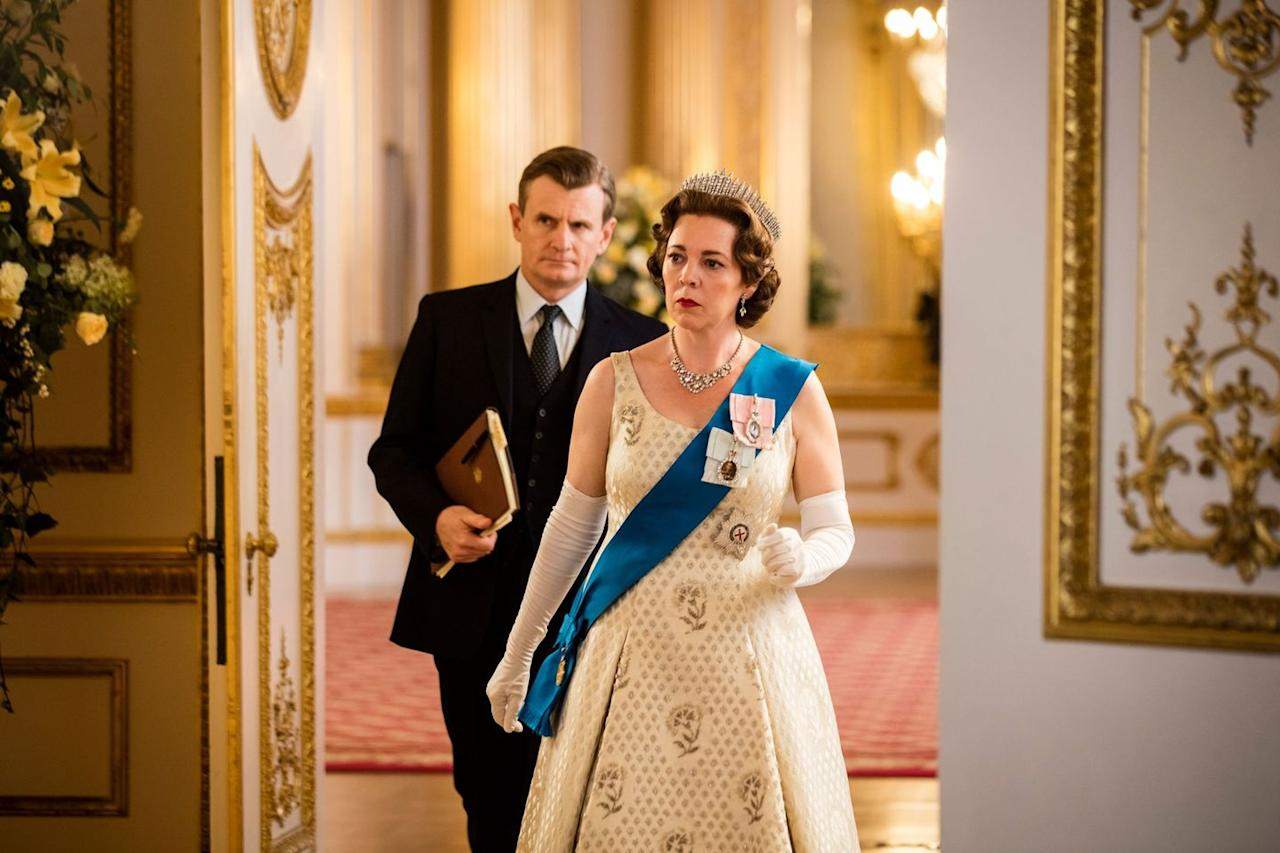 """<p>England never seemed so scandalous! Actually, that's a giant lie. The Royal Family is about the most poised you can expect anyone to be in the face of a scandal, but that doesn't mean they don't exist. <em>The Crown</em> follows Queen Elizabeth through her tenure, and it's much spicier than you'd ever imagine.</p><p><a class=""""body-btn-link"""" href=""""https://www.netflix.com/watch/80025678?source=35"""" target=""""_blank"""">Watch Now</a></p>"""