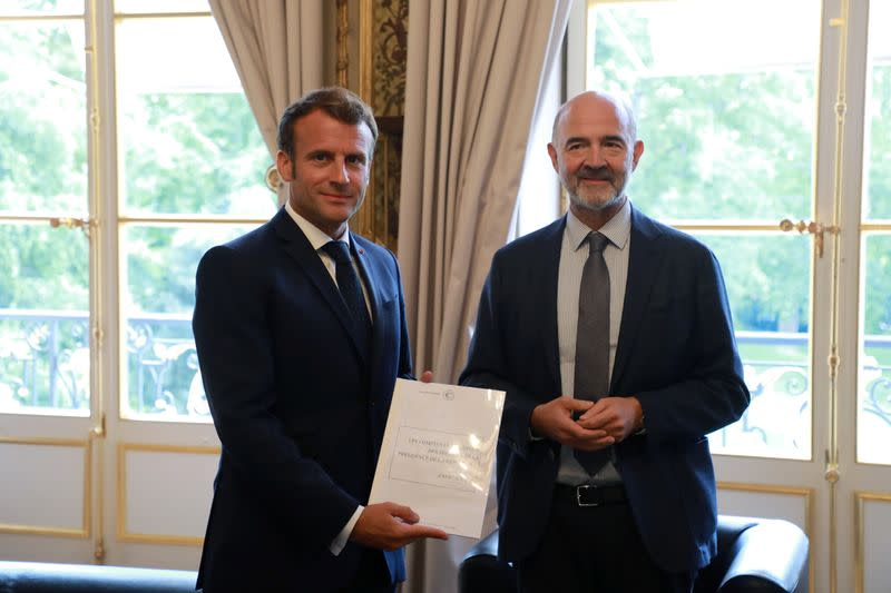 Macron announces bonus package for homecare workers amid COVID-19 crisis