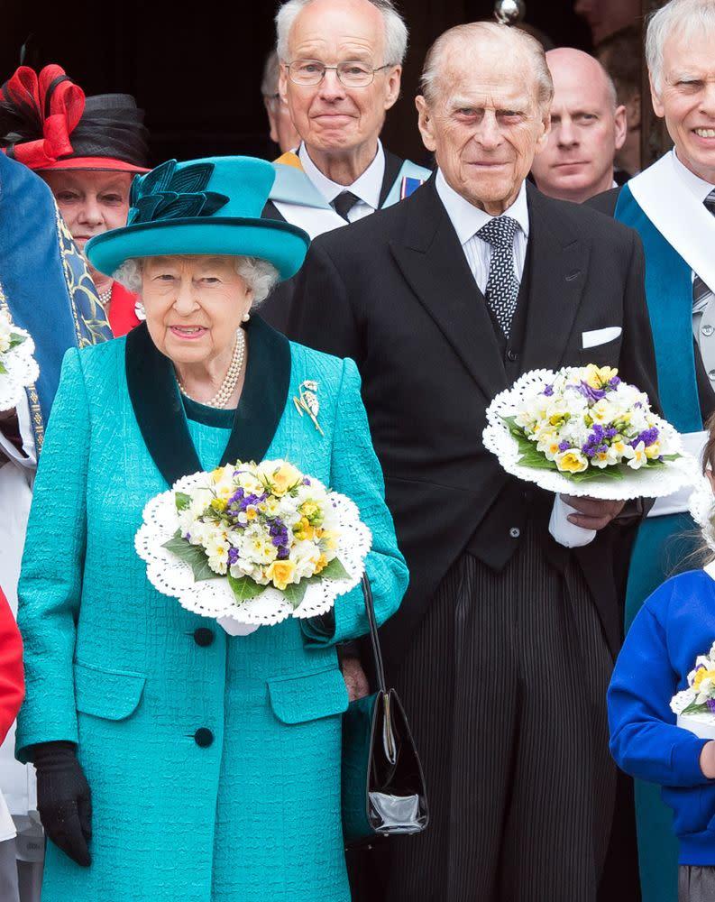 Queen Elizabeth and Prince Philip | Samir Hussein/WireImage