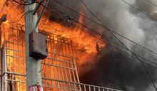 台中豐原空品惡化 工廠火警濃煙惹禍