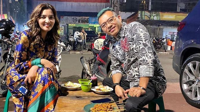 Aurel Hermansyah menyebut Ashanty dan Anang sebagai pasangan terkocak (Dok.Instagram/@aurelie.hermansyah/https://www.instagram.com/p/CADvSgTD1tp/Komarudin)