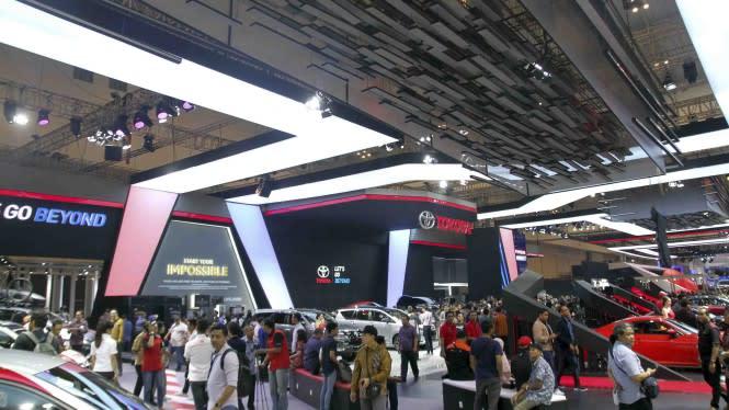 Pameran Otomotif Ditunda, Toyota Mulai Bergerilya di Online
