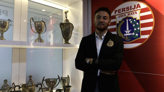 Marc Klok Bergairah Mengikuti Latihan Perdana Bersama Persija