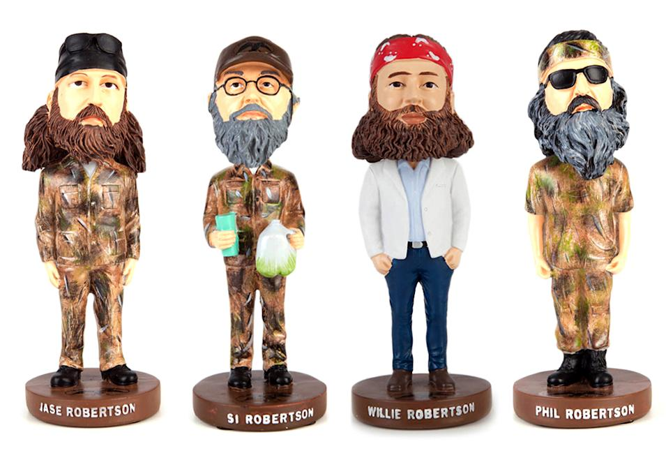 """Duck Dynasty"" Merchandise: Bobble Heads"