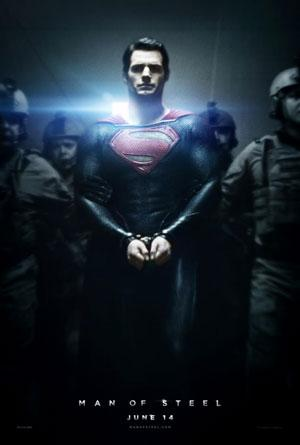 New 'Man of Steel' poster puts Superman in chains