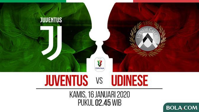 Coppa Italia - Juventus Vs Udinese (Bola.com/Adreanus Titus)