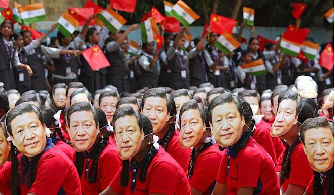 Nationalist sentiment is growing in both India and China. Photo: Reuters
