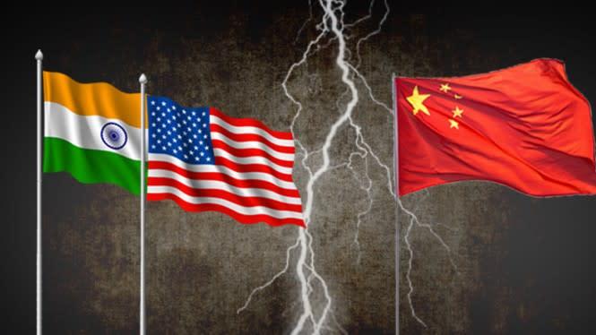 China Dipepet Amerika dan India