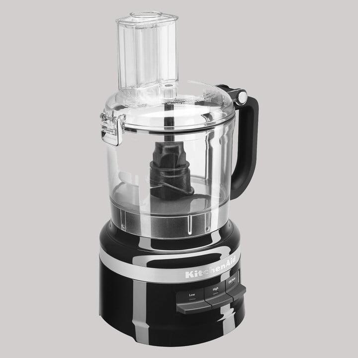 KitchenAid 7-Cup Onyx Black Food Processor