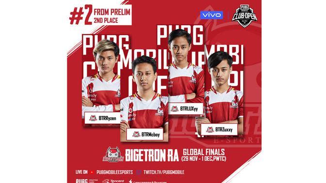 Bigetron Esports Wakili Indonesia di Final Global PMCO 2019