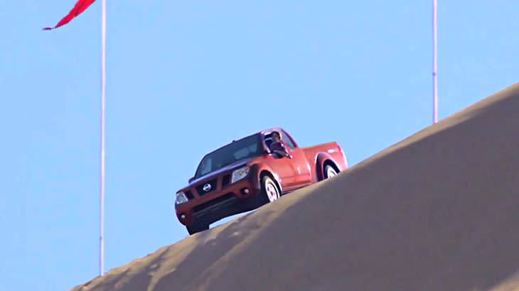 Feds save Americans from believing Nissan pickups can climb sand dunes