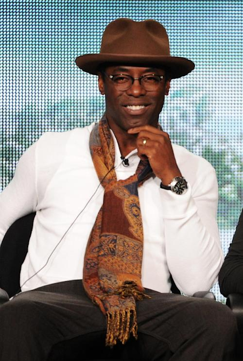 "FILE - In this Jan. 15, 2014 file photo, cast member Isaiah Washington participates in ""The 100"" panel at the CBS Winter TCA Press Tour, at the Langham Huntington, in Pasadena, Calif. ABC says Washington will return to ""Grey's Anatomy"" for a guest appearance in May 2014, seven years after he was fired from the medical drama. (Photo by Frank Micelotta/Invision/AP, file)"