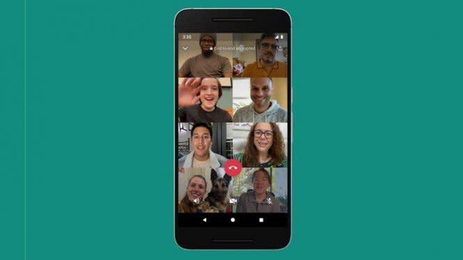 Video Call Sampai 8 Orang Whatsapp Sesumbar Data Pengguna Pasti Aman