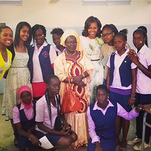 Michelle Obama Joins Instagram, Continues to Be the Coolest