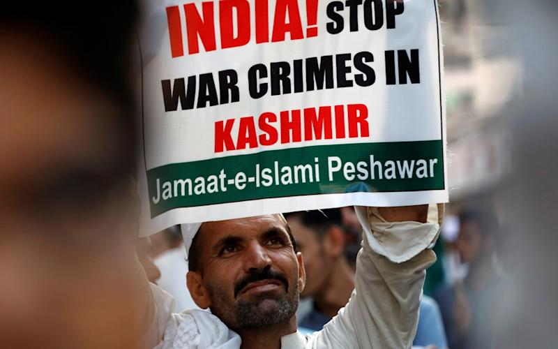 The significant presence of the Indian Army in Kashmir is an extremely divisive issue - FAYAZ AZIZ/REUTERS