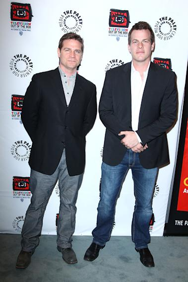 Executive Procucers Greg Plageman and Jonathan Nolan