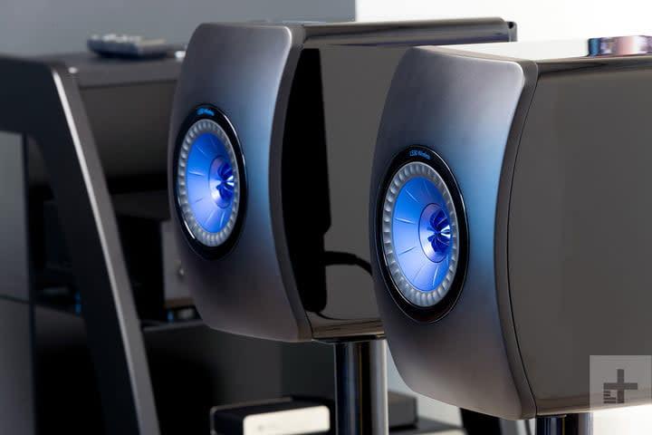 best speakers KEF LS50