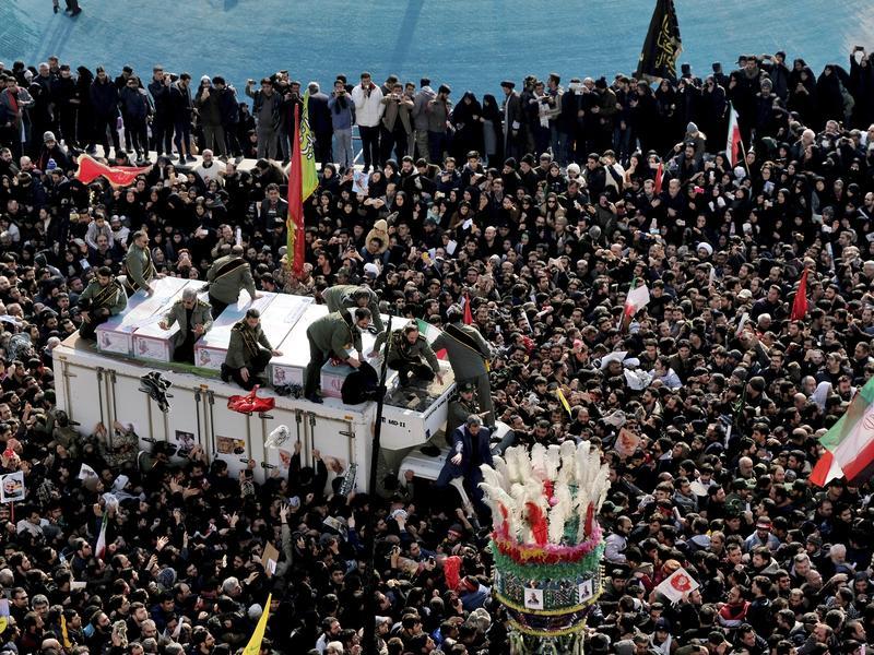 為蘇雷曼尼國殤3日 伊朗放話強烈報復