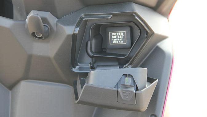 All-new Honda BeAT kini dilengkapi power outlet untuk (Liputan6.com)