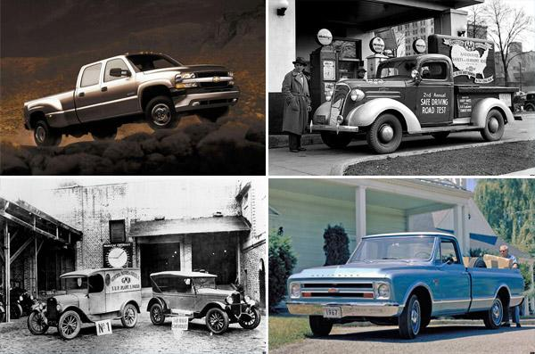 Chevy's top 10 trucks of all time