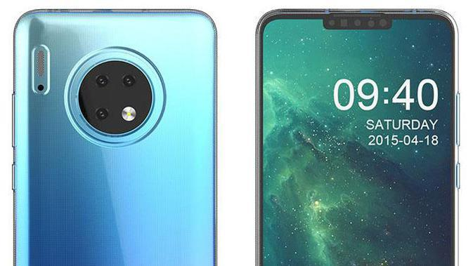 Foto render Huawei Mate 30 Pro muncul di internet. (Doc: SlashLinks)