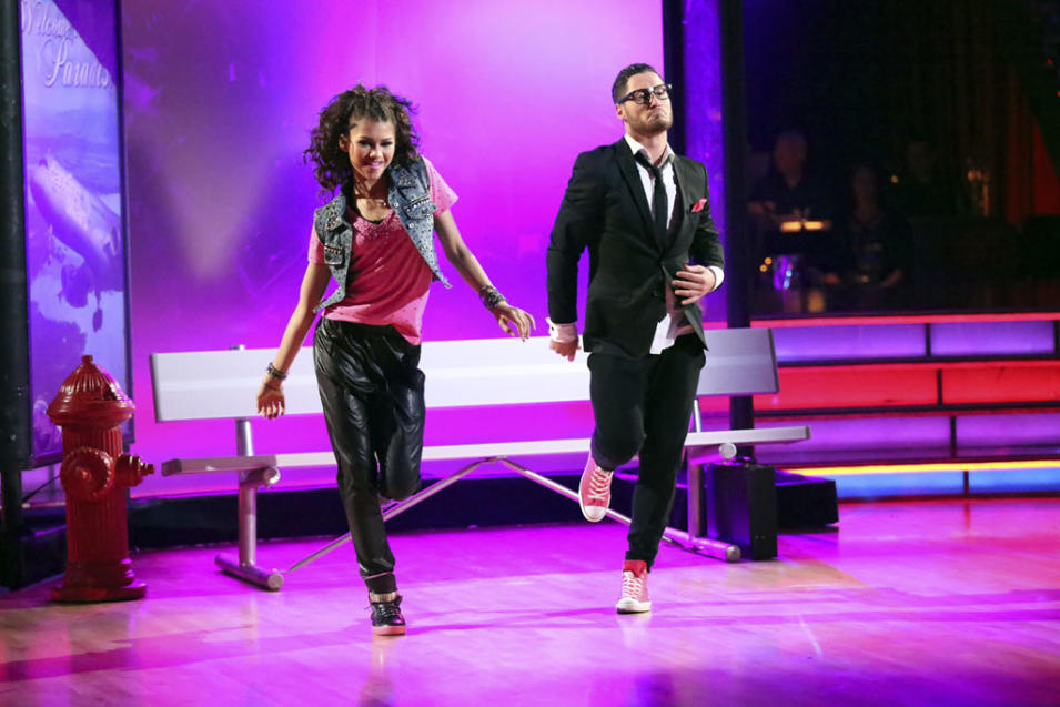 Zendaya and Val Chmerkovskiy (5/13/13)