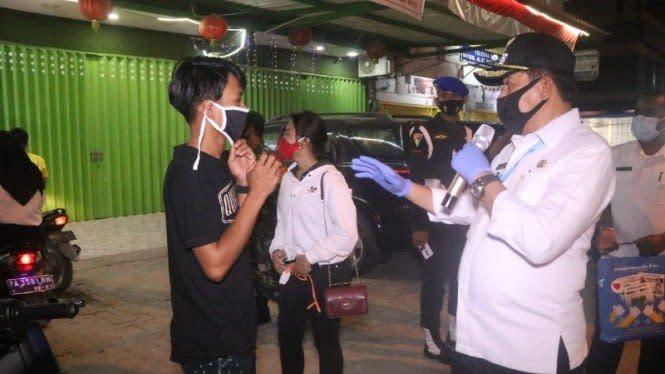 Tak Pakai Masker di Kota Jayapura Denda Maksimal Rp200 Ribu