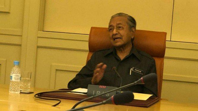Mahathir Mohamad: Negara Israel Dibentuk dari Tanah Palestina