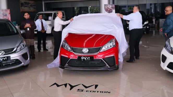 Tampilan Perodua Myvi S-edition