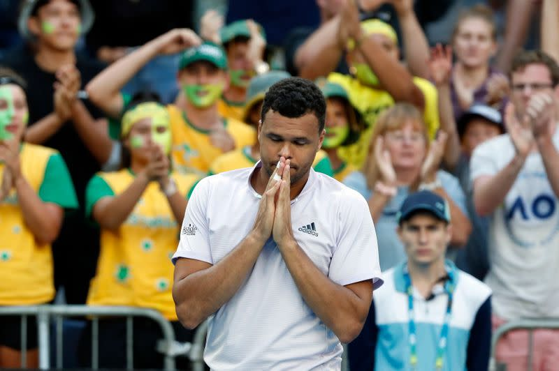 Frenchman Tsonga ruled out for rest of 2020 due to back injury