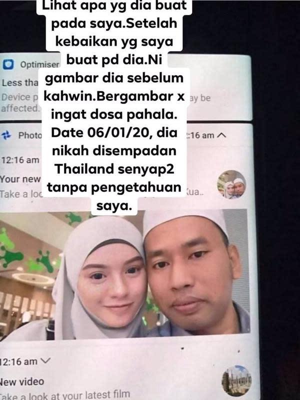 Suami nikahi sahabat istri diam-diam (Sumber: Twitter/twittervirall)