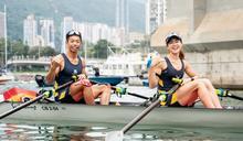 【賽艇】香港環島大賽 趙顯臻挑戰海岸賽艇 混合雙人雙槳照掄元